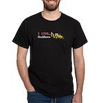 I Love Backhoes Dark T-Shirt