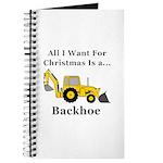 Christmas Backhoe Journal