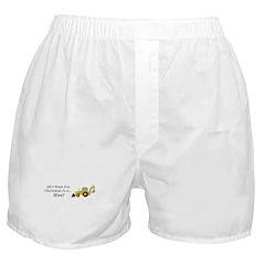 Christmas Hoe Boxer Shorts