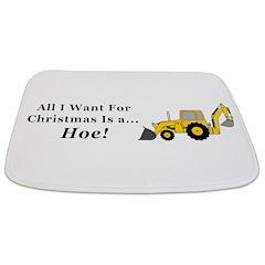 Christmas Hoe Bathmat