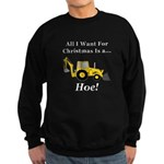 Christmas Hoe Sweatshirt (dark)