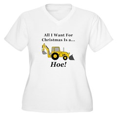 Christmas Hoe T-Shirt