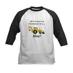 Christmas Hoe Kids Baseball Jersey