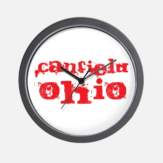 Canfield, Ohio Wall Clock