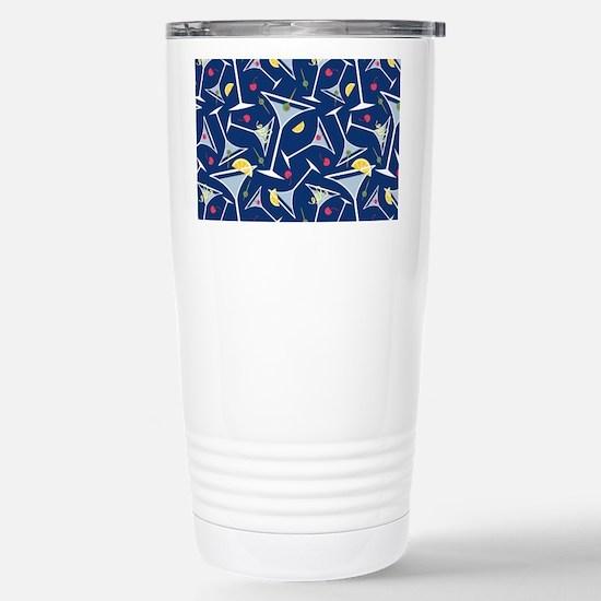 Blue Martinis Travel Mug