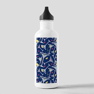 Blue Martinis Water Bottle