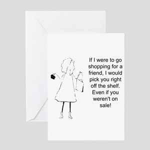 Best friends forever greeting cards cafepress shopping for a friend greeting cards m4hsunfo Images