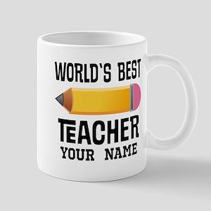 Personalized Best Teacher Gift Mugs