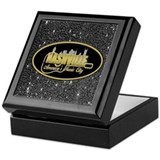 Nashville box Square Keepsake Boxes