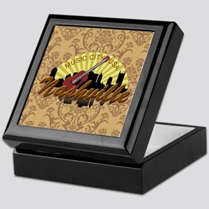 Nashville Music City-Kb-01 Keepsake Box