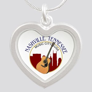 Nashville, TN Music City USA-RD Necklaces