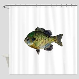 BLUEGILL Shower Curtain