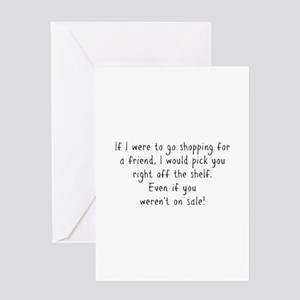 Best friends forever greeting cards cafepress shopping for a friend text greeting cards m4hsunfo