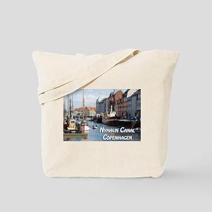 Nyhavn Canal Copenhagen Denmark Tote Bag