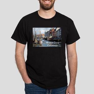 Nyhavn Canal Copenhagen Denmark T-Shirt