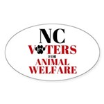 NC Voters for Animal Welfare Sticker