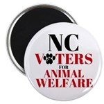 NC Voters for Animal Welfare Magnets