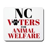 NC Voters for Animal Welfare Mousepad