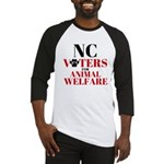 NC Voters for Animal Welfare Baseball Jersey