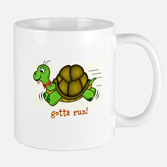 Turtle Gotta Run Mugs