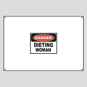 dieting woman fun Banner