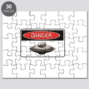flying saucer danger Puzzle