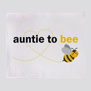 Auntie To Bee Throw Blanket