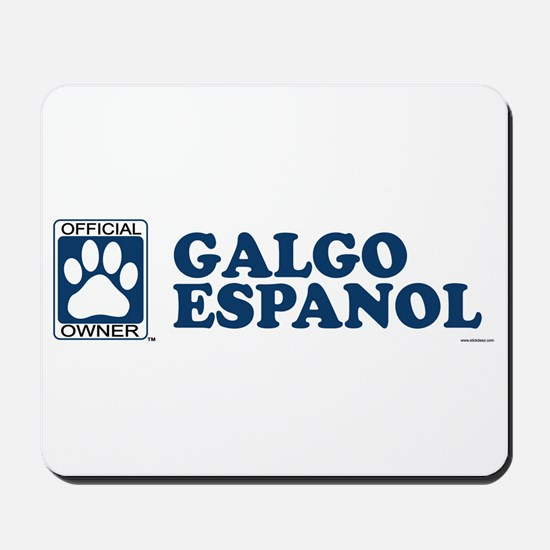 GALGO ESPANOL Mousepad