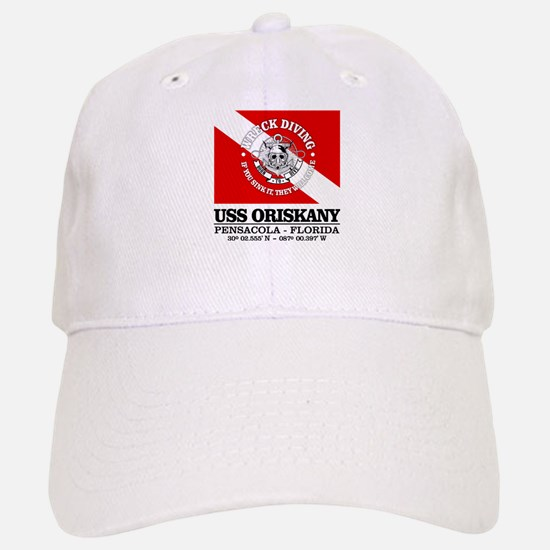 USS Oriskany Baseball Baseball Baseball Cap