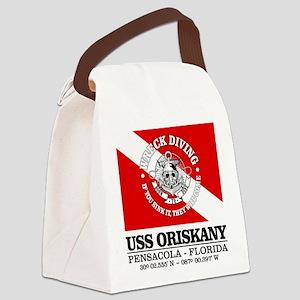 USS Oriskany Canvas Lunch Bag
