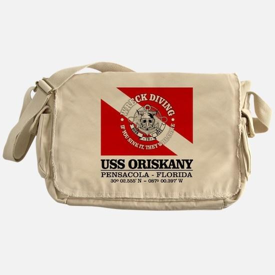 USS Oriskany Messenger Bag