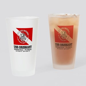 USS Oriskany Drinking Glass