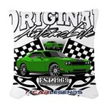 CHALLENGER HEMI Woven Throw Pillow