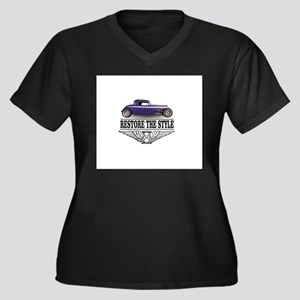 restore the style of an era Plus Size T-Shirt