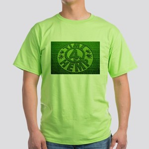 Hemp Crop Circle Green T-Shirt
