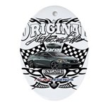 Civic Racer Oval Ornament