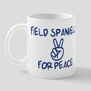 Field Spaniels for Peace Mug