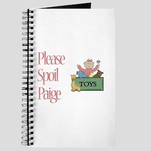 Please Spoil Paige Journal