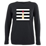 Red lipstick Long Sleeves