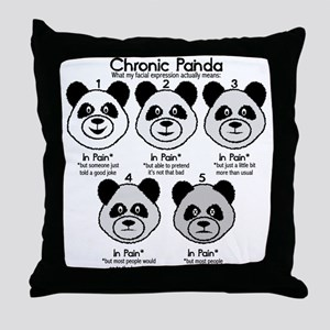 Chronic Painda Throw Pillow