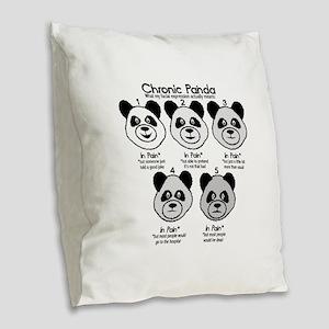 Chronic Painda Burlap Throw Pillow
