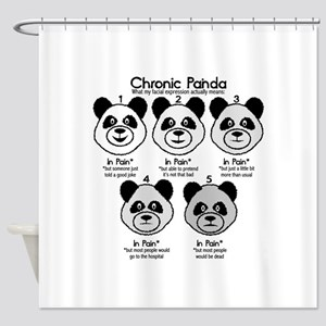 Chronic Painda Shower Curtain