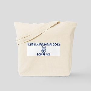 Estrela Mountain Dogs for Pea Tote Bag