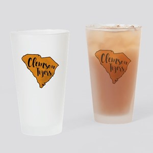 clemson tigers Drinking Glass