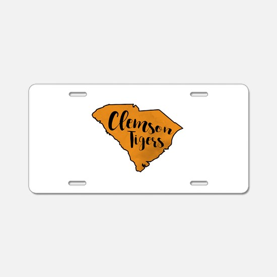 clemson tigers Aluminum License Plate