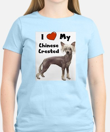 I Love My Chinese Crested T-Shirt