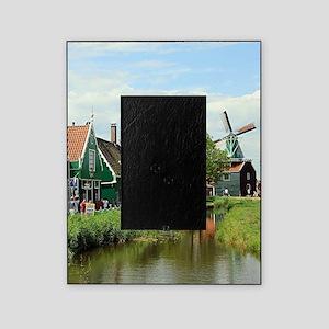 Dutch windmill village, Holland Picture Frame