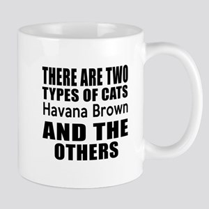 There Are Two Types Of Havana Brown Cat Mug