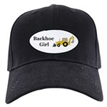Backhoe Girl Black Cap