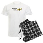 Backhoe Girl Men's Light Pajamas